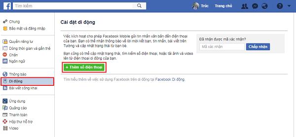 Hướng dẫn bật bảo mật 2 lớp cho Facebook